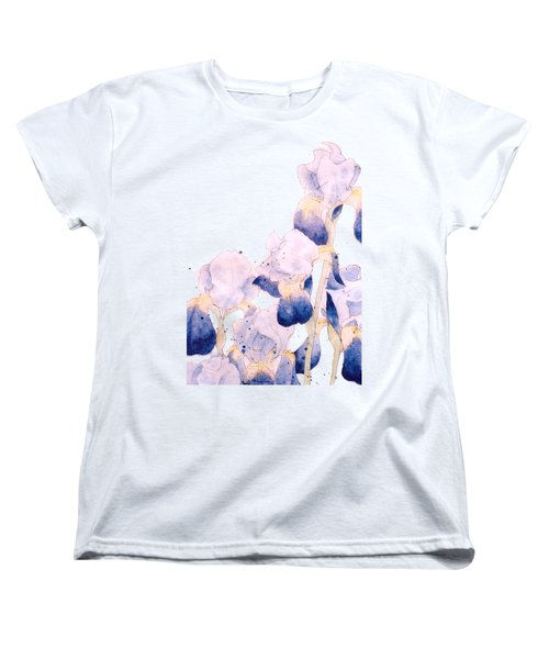 Graceful Iris Women's T-Shirt (Standard Cut) by Gail Maguire