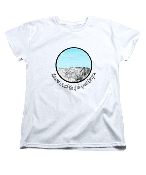 Grand Canyon - South Rim Women's T-Shirt (Standard Cut) by James Lewis Hamilton
