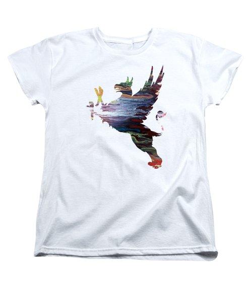 Griffon Women's T-Shirt (Standard Cut) by Mordax Furittus