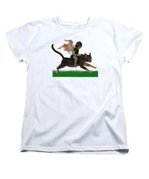 Having Fun Women's T-Shirt (Standard Cut) by Nancy Pauling