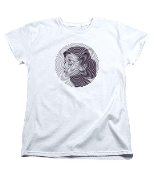 Hepburn Women's T-Shirt (Standard Cut) by Zachary Witt