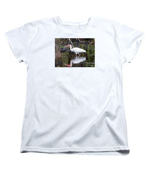 Ibis Drink Women's T-Shirt (Standard Cut) by Mike Dawson