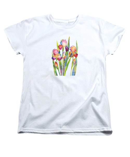 Iris Elegance Women's T-Shirt (Standard Cut) by Hailey E Herrera