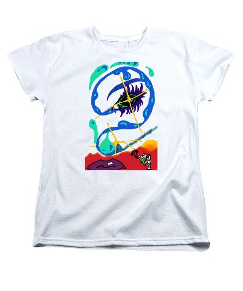 iseeU Women's T-Shirt (Standard Cut) by Flyn Phoenix