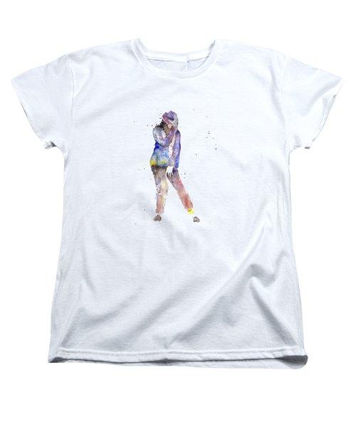 Jackson  Women's T-Shirt (Standard Cut) by Salome Mikaberidze