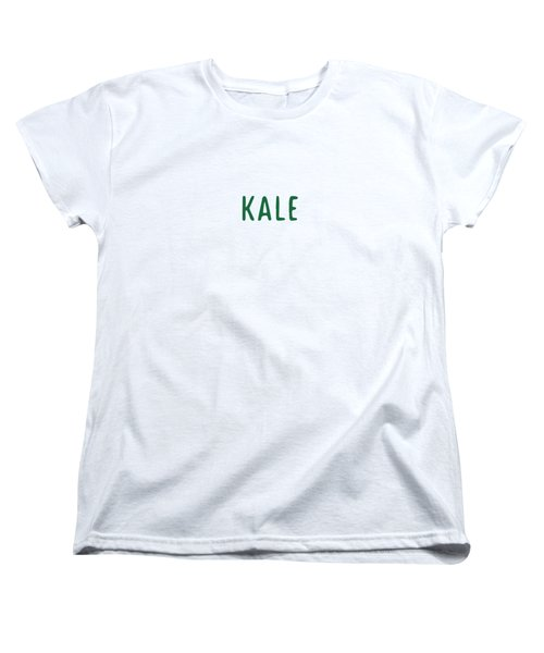 Kale Women's T-Shirt (Standard Cut) by Cortney Herron