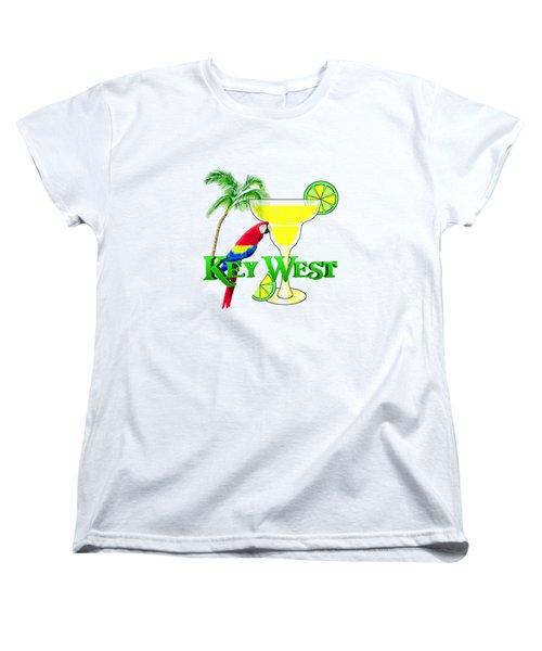 Key West Margarita Women's T-Shirt (Standard Cut) by Chris MacDonald
