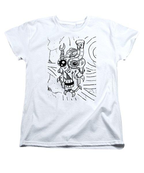 Killer Robot Women's T-Shirt (Standard Cut) by Erki Schotter