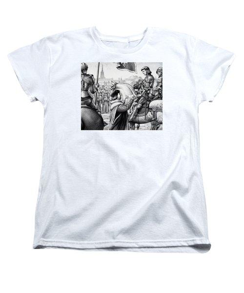 King Henry Vii Women's T-Shirt (Standard Cut) by Pat Nicolle