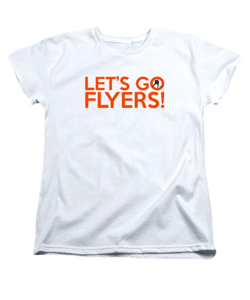 Let's Go Flyers Women's T-Shirt (Standard Cut) by Florian Rodarte