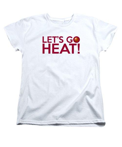 Let's Go Heat Women's T-Shirt (Standard Cut) by Florian Rodarte