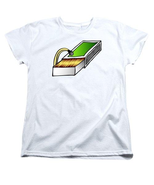 Looking For Women's T-Shirt (Standard Cut) by Michal Boubin
