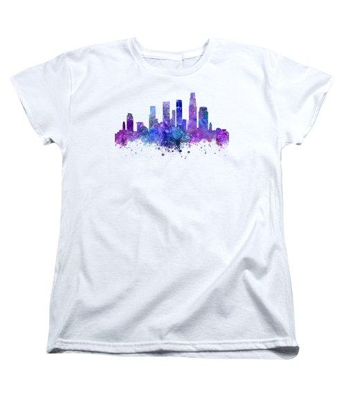 Los Angeles Women's T-Shirt (Standard Cut) by JW Digital Art