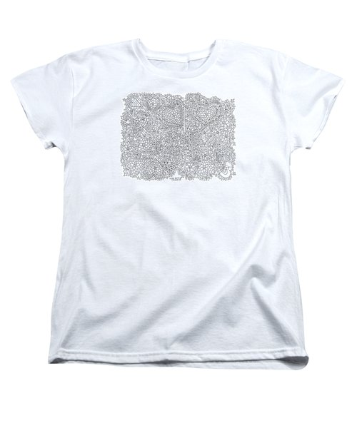 Love Berlin Women's T-Shirt (Standard Cut) by Tamara Kulish