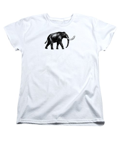 Mammoth Tee Women's T-Shirt (Standard Cut) by Edward Fielding