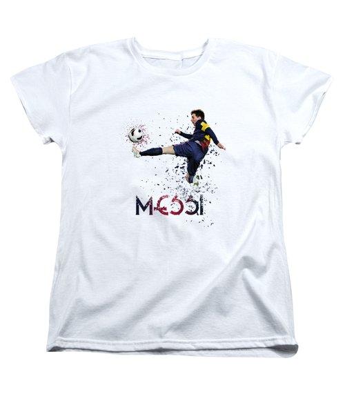 Messi Women's T-Shirt (Standard Cut) by Armaan Sandhu