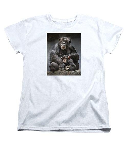 Mom And Baby Women's T-Shirt (Standard Cut) by Jamie Pham