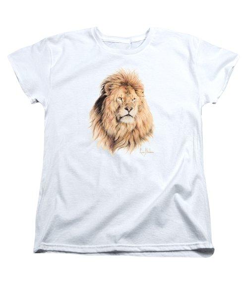 Mufasa Women's T-Shirt (Standard Cut) by Lucie Bilodeau