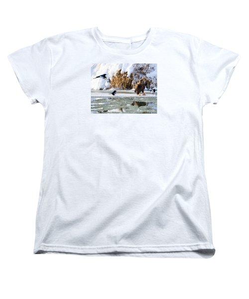 My Lunch Women's T-Shirt (Standard Cut) by Mike Dawson