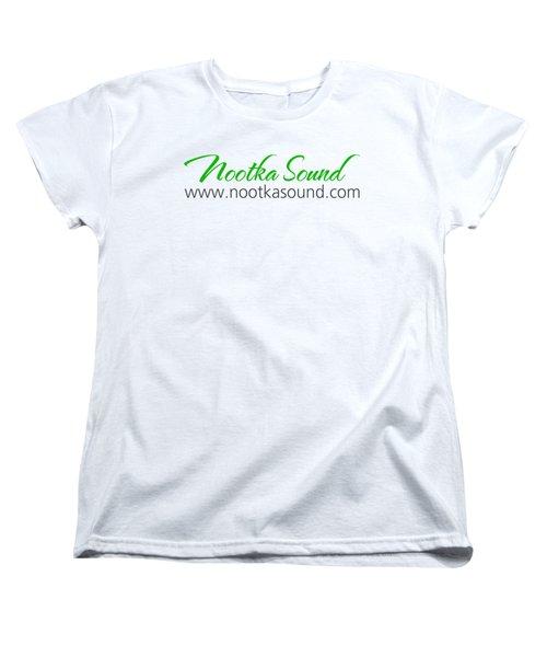Nootka Sound Logo #10 Women's T-Shirt (Standard Cut) by Nootka Sound