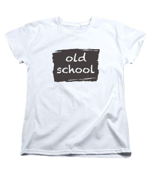 Old School Women's T-Shirt (Standard Cut) by Bill Owen