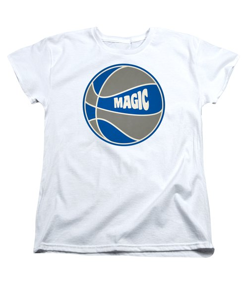 Orlando Magic Retro Shirt Women's T-Shirt (Standard Cut) by Joe Hamilton