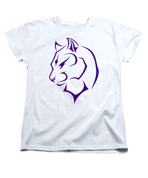 Panther Women's T-Shirt (Standard Cut) by Frederick Holiday