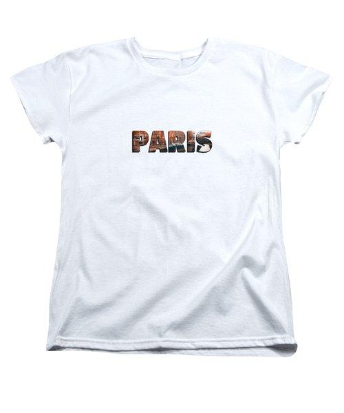 Paris In Fall Women's T-Shirt (Standard Cut) by Konstantin Sevostyanov