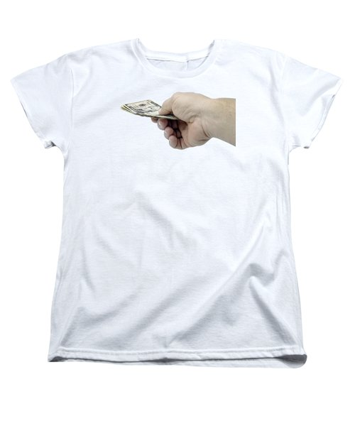 Pay Money Women's T-Shirt (Standard Cut) by Erich Grant