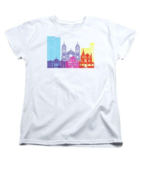 Phoenix Skyline Pop Women's T-Shirt (Standard Cut) by Pablo Romero