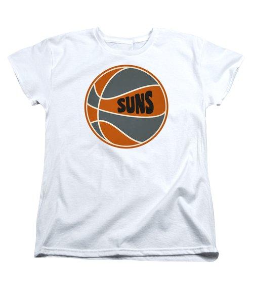 Phoenix Suns Retro Shirt Women's T-Shirt (Standard Cut) by Joe Hamilton