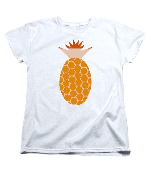 Pineapple Women's T-Shirt (Standard Cut) by Frank Tschakert