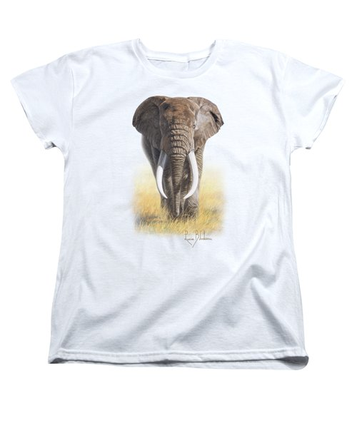 Power Of Nature Women's T-Shirt (Standard Cut) by Lucie Bilodeau