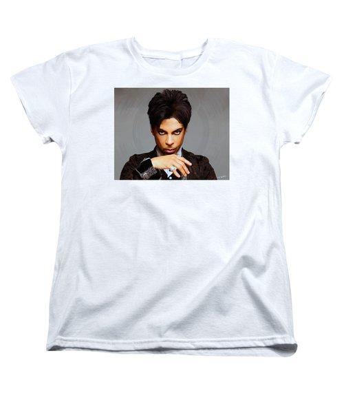 Prince Women's T-Shirt (Standard Cut) by Paul Tagliamonte