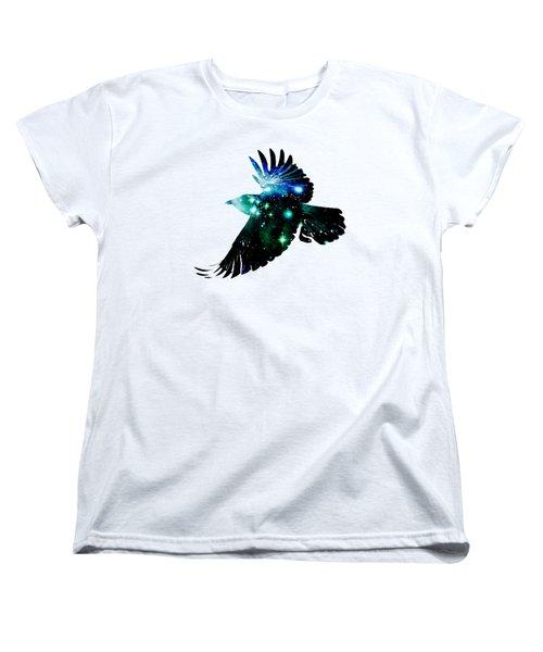 Raven Women's T-Shirt (Standard Cut) by Anastasiya Malakhova