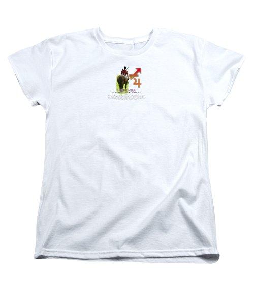 Sagittarius Sun Sign Women's T-Shirt (Standard Cut) by Shelley Overton