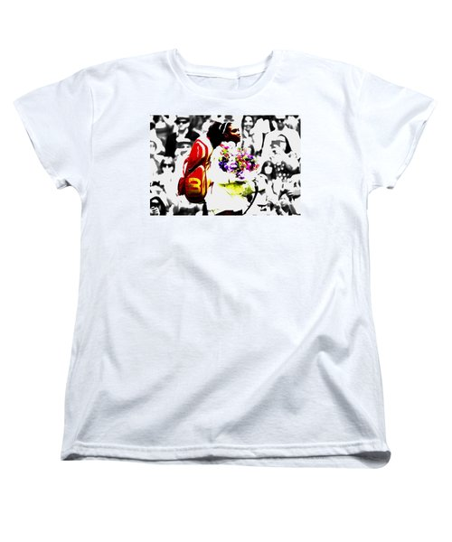 Serena Williams 2f Women's T-Shirt (Standard Cut) by Brian Reaves