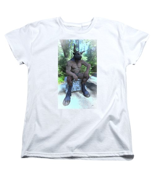 Sitting Bull Women's T-Shirt (Standard Cut) by Joaquin Abella