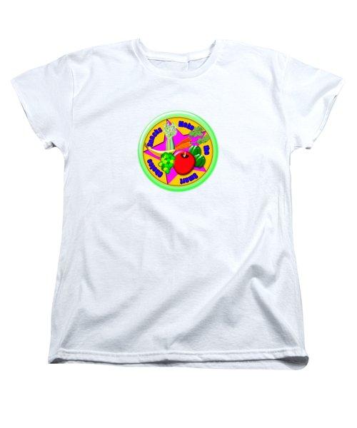 Smart Snacks Women's T-Shirt (Standard Cut) by Linda Lindall