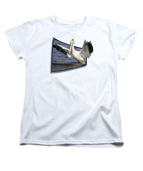 Spread Your Wings Women's T-Shirt (Standard Cut) by Shane Bechler