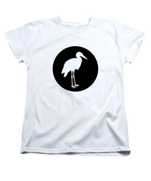 Stork Women's T-Shirt (Standard Cut) by Mordax Furittus
