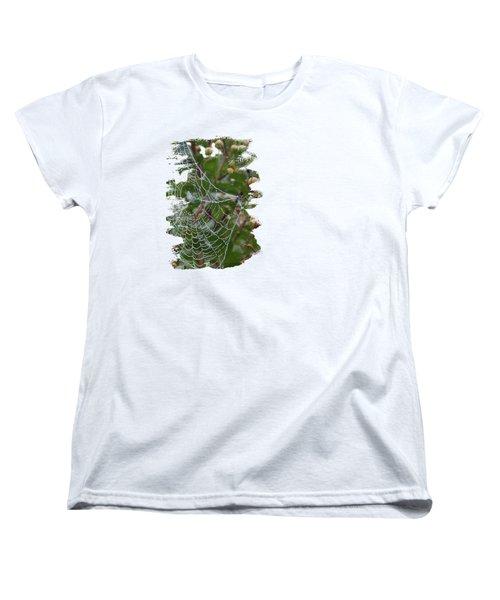 String Of Pearls Women's T-Shirt (Standard Cut) by Anita Faye