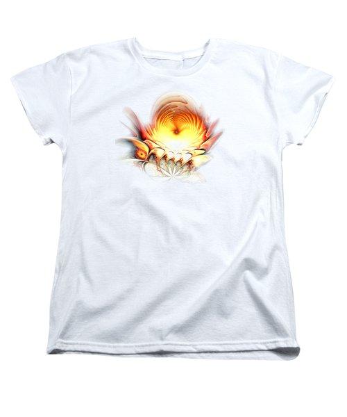 Sunrise In Neverland Women's T-Shirt (Standard Cut) by Anastasiya Malakhova