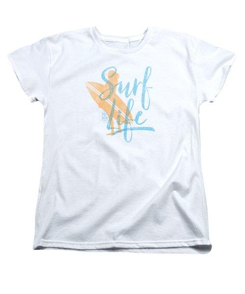 Surf Life 2 Women's T-Shirt (Standard Cut) by SoCal Brand