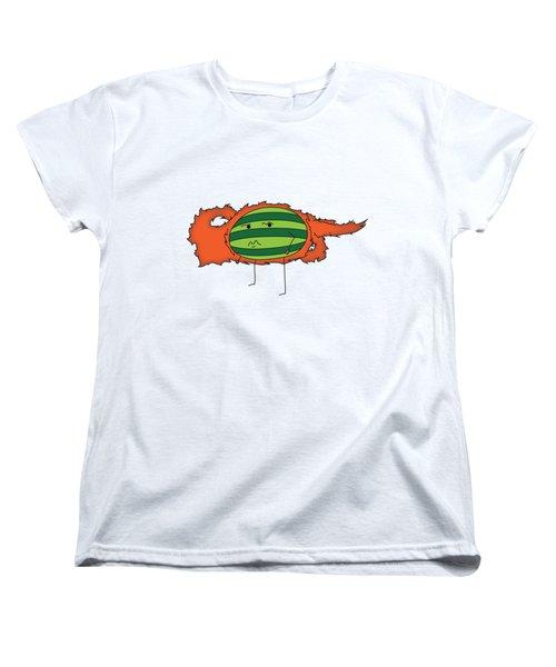 T H E . E L E M E L O N S ______________ F I R E M E L O N Women's T-Shirt (Standard Cut) by H U M E A I M A R T