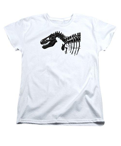 T-rex Women's T-Shirt (Standard Cut) by Martin Newman
