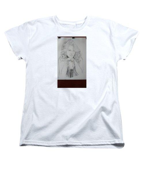 Taylor Swift Women's T-Shirt (Standard Cut) by Jiyad Mohammed nasser