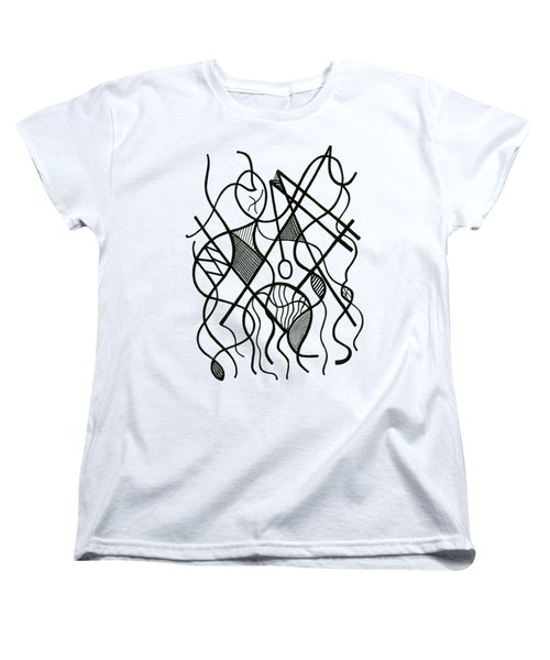 Tennis Anyone? Women's T-Shirt (Standard Cut) by Rachel Knight