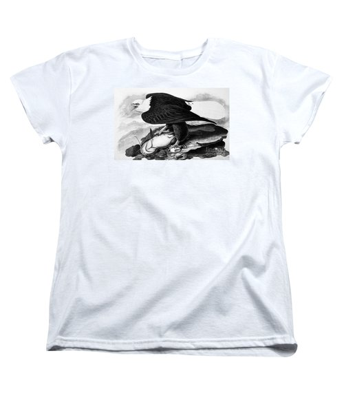 The Bald Eagle Women's T-Shirt (Standard Cut) by Granger