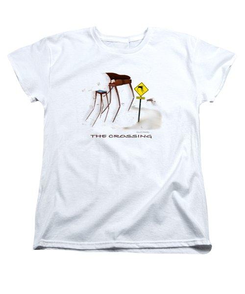 The Crossing Se Women's T-Shirt (Standard Cut) by Mike McGlothlen